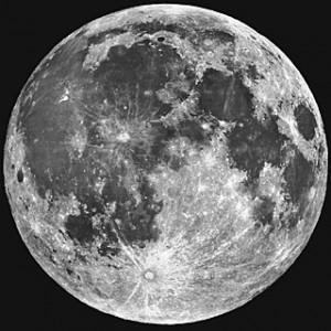 Maan - zoals je hem met je ogen ziet