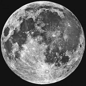 Maan door een Maksutov