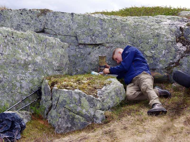 Potje koken op de Hardangervidda
