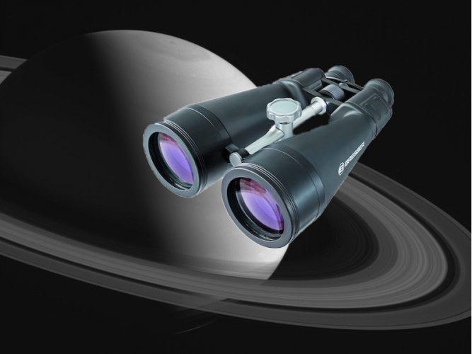 Sterren en planeten kijken met een verrekijker