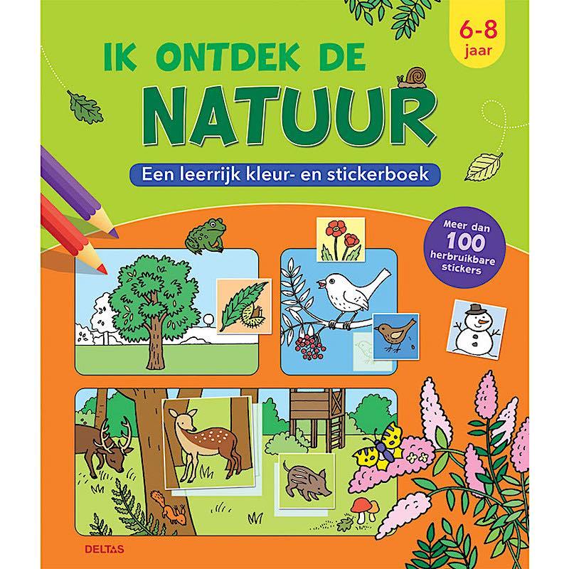 Een-leerrijk-kleur-en-stickerboek-Ik-ontdek-de-natuur-